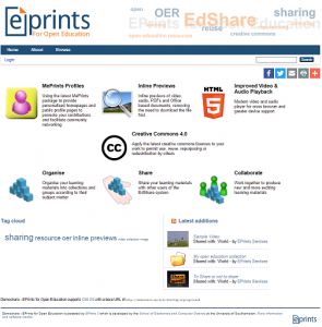 EdShare Frontpage